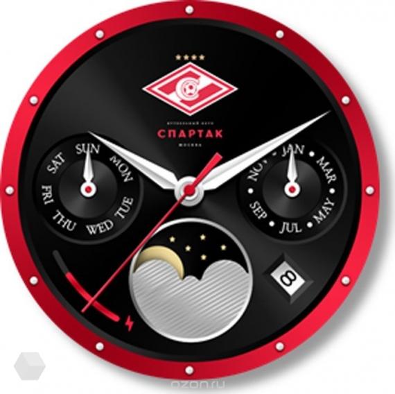 Samsung представила футбольную версию часов Gear S3 Spartak Edition4
