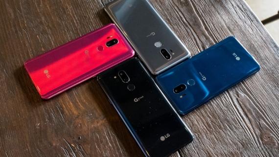 Объявлена цена LG G7 ThinQ для России1
