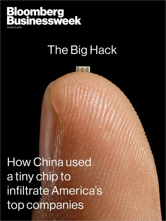 Китай шпионил за Apple и Amazon при помощи вредоносного чипа1