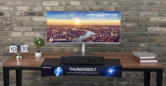 Samsung СJ79: 34 дюйма с Thunderbolt 33