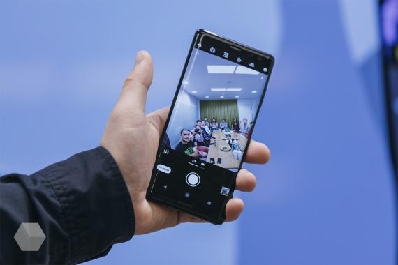Первое впечатление от Sony Xperia XZ312