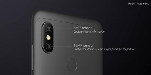 Xiaomi Redmi Note 6 Pro: «чёлка» и Snapdragon за 14 тысяч рублей4