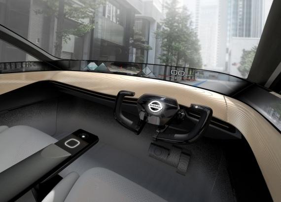 Электромобиль Nissan IMx Kuro следит за мозговой активностью водителя4