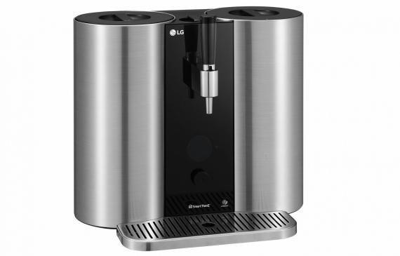 LG представит домашнюю капсульную систему для приготовления пива1
