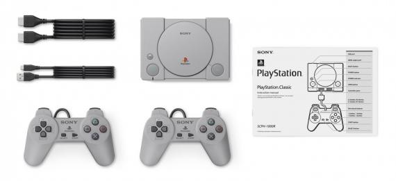 Sony перевыпустит оригинальную приставку PlayStation1