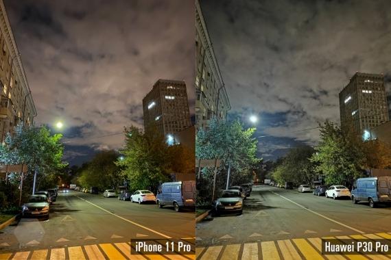 Сравнение ночных снимков iPhone 11 Pro с флагманами конкурентов5