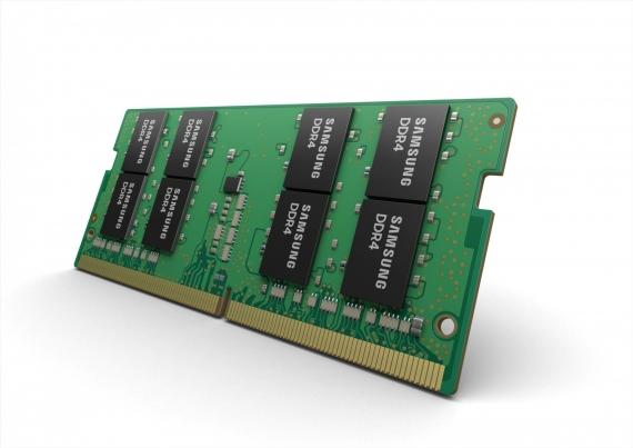 Samsung выпустила SODIMM-модули памяти на основе 10-нм технологии1