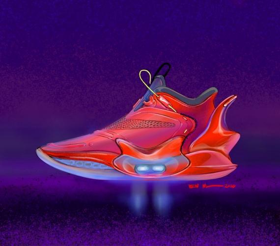 Nike представила второе поколение умных кроссовок Adapt BB1