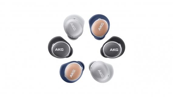 AKG представила беспроводные наушники N400 с активным шумоподавлением и защитой от воды1