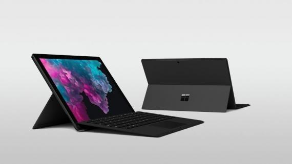 Microsoft Surface Pro 6 получил чёрный корпус и новые процессоры1