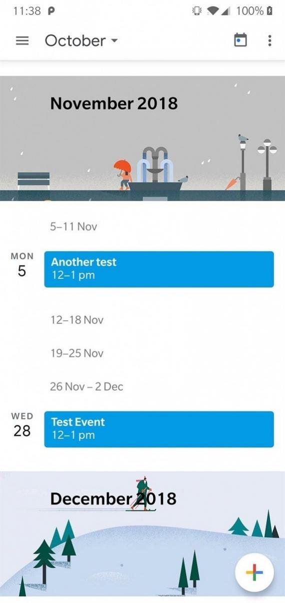 «Google Календарь» 6.0 получил новый MaterialUI1