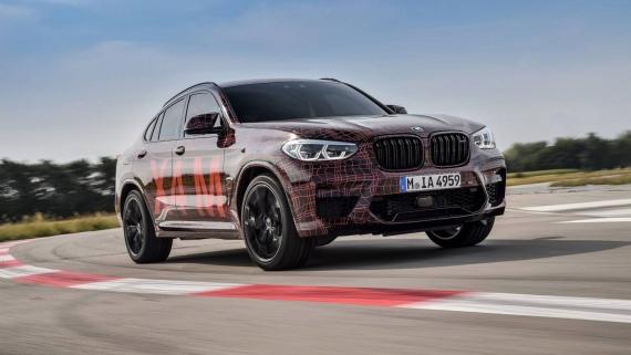 BMW поделилась фотографиями с испытаний X3/X4 M13