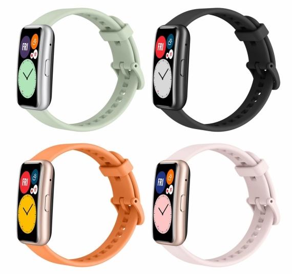 Официальные рендеры часов Huawei Watch Fit1