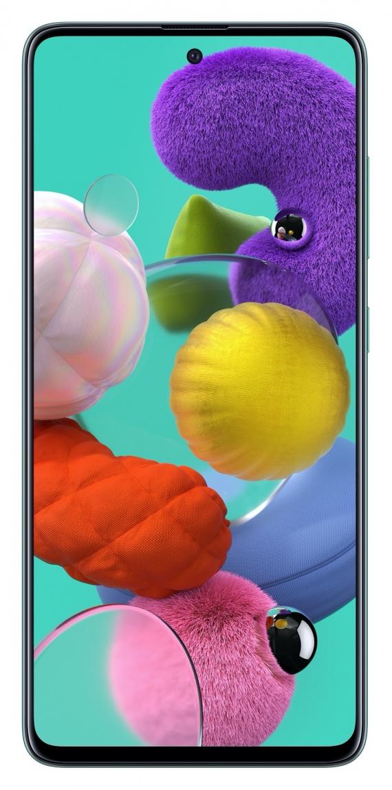 Samsung Galaxy A51: макрокамера и дисплей Infinity-O0
