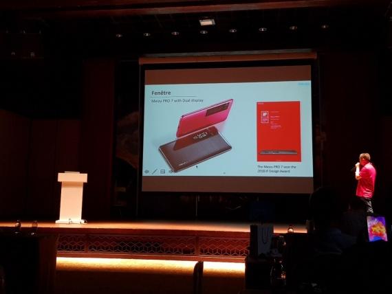 Пресс-завтрак с Meizu: смартфон с NFC, Flyme 7 и Android One3
