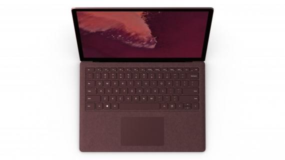 Microsoft Surface Laptop 2: то же самое, но с чёрным корпусом0