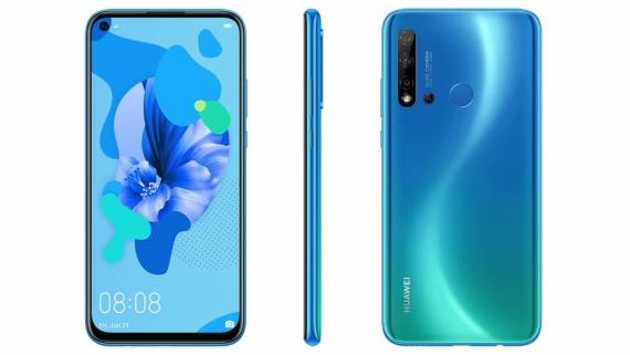 Официальные рендеры Huawei P20 Lite 2019 с отверстием в дисплее1