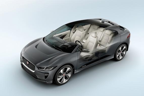 Электрический кроссовер Jaguar I-Pace появится в России6