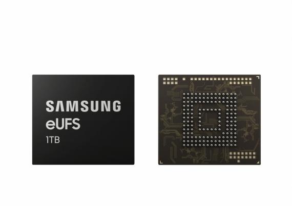 Смартфоны Samsung получат модуль встроенной памяти на 1 ТБ1