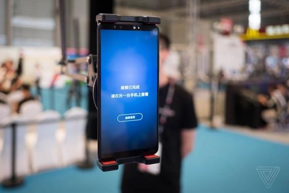 Трёхмерный сканер от Vivo использует 300 тысяч точек2