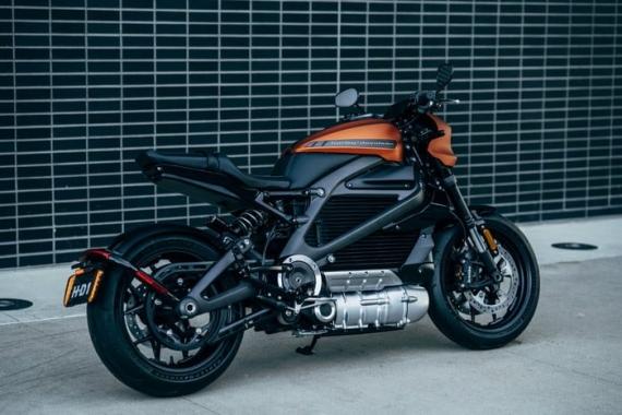 Harley-Davidson представила электрический мотоцикл LiveWire5