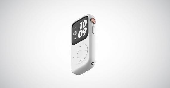 Концепт кейса для превращения Apple Watch в iPod1