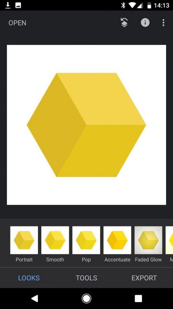 Snapseed для Android получил тёмную тему2