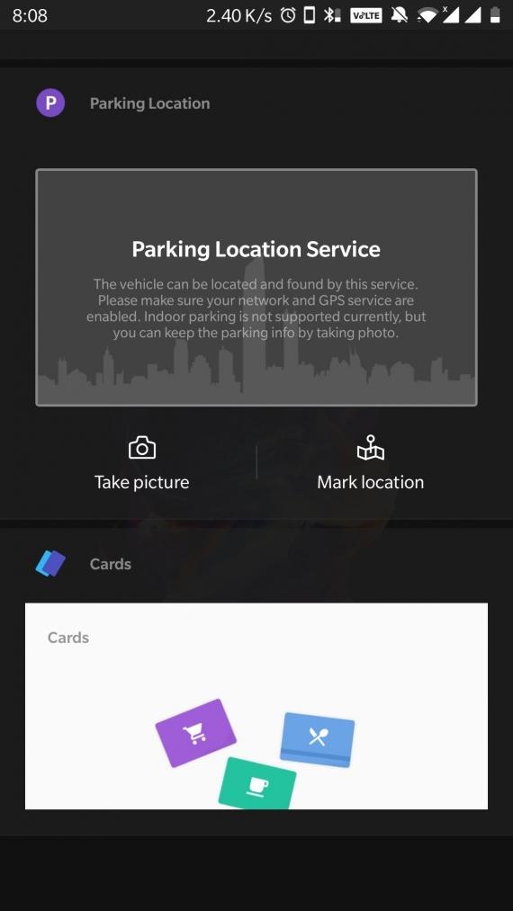 Смартфон OnePlus подскажет, где припаркован автомобиль владельца1