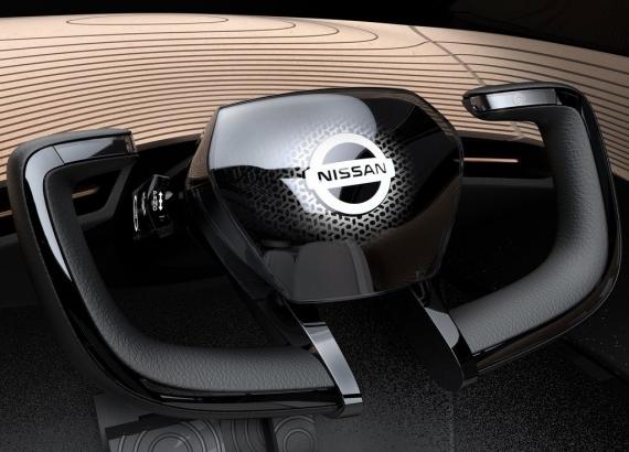 Электромобиль Nissan IMx Kuro следит за мозговой активностью водителя6