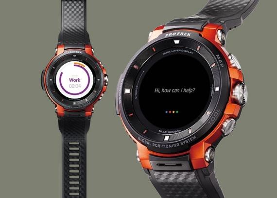 Умные часы Casio WSD-F30 протянут три дня без подзарядки4
