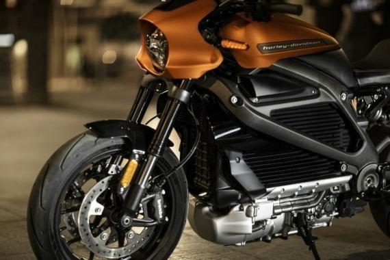 Harley-Davidson представила электрический мотоцикл LiveWire14