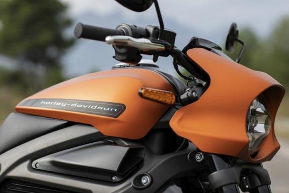 Harley-Davidson представила электрический мотоцикл LiveWire9