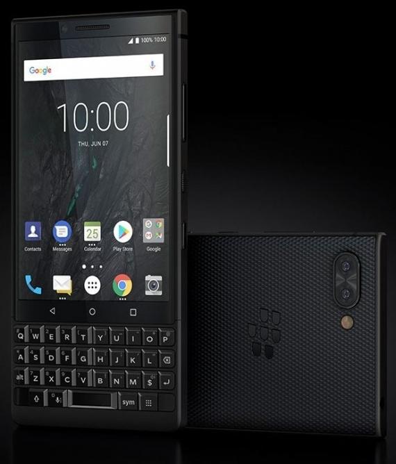 BlackBerry KEY2: обновлённая клавиатура и двойная камера3