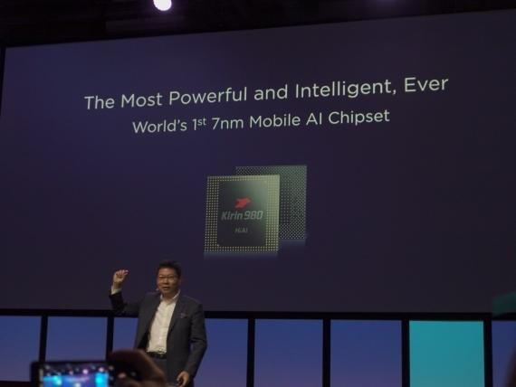 Первый в мире 7-нм процессор Huawei Kirin 9802