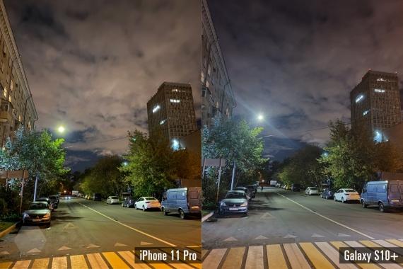 Сравнение ночных снимков iPhone 11 Pro с флагманами конкурентов11
