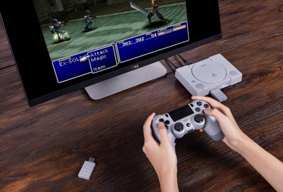 PlayStation Classic получила поддержку беспроводных контроллеров1