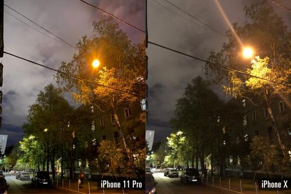 Сравнение ночных снимков iPhone 11 Pro с флагманами конкурентов3