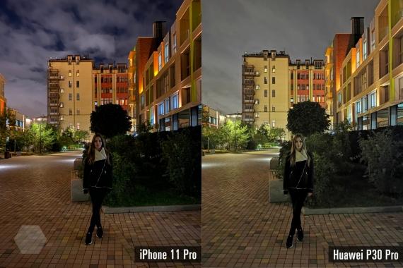 Сравнение ночных снимков iPhone 11 Pro с флагманами конкурентов4
