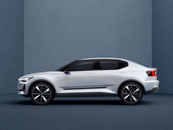 Так выглядит первый электромобиль от Volvo1