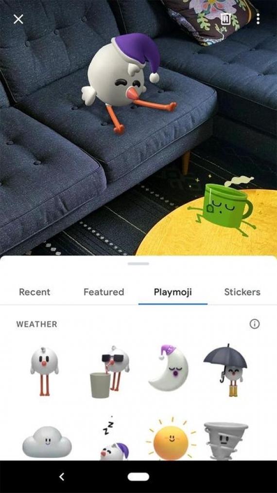 AR-стикеры от Google стали доступны для смартфонов с поддержкой ARCore1