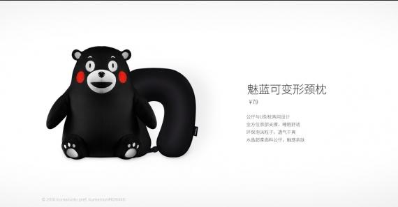 Набор для путешествий с мишкой Кумамон от Meizu4