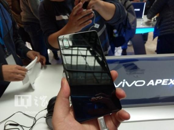 Максимально безрамочный Vivo APEX официально появится в продаже4