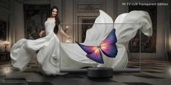 Презентован Xiaomi Mi TV LUX Transparent Edition за 49 999 юаней (~525 200 рублей)2