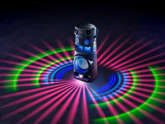 Sony представила четыре моноблочные аудиосистемы для вечеринок0