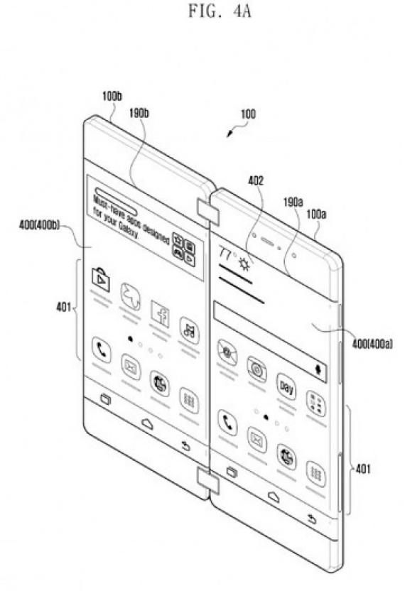 Складывающийся смартфон Samsung обойдётся в две тысячи долларов1