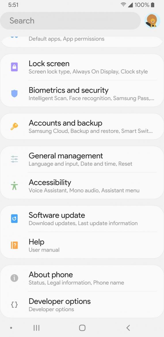 Android Pie привнесёт на устройства Samsung новый интерфейс12