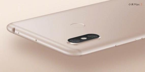 Презентован фаблет Xiaomi Mi Max 3 с гигантским аккумулятором1