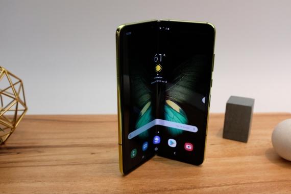 Что говорят журналисты о складном смартфоне Samsung Galaxy Fold25