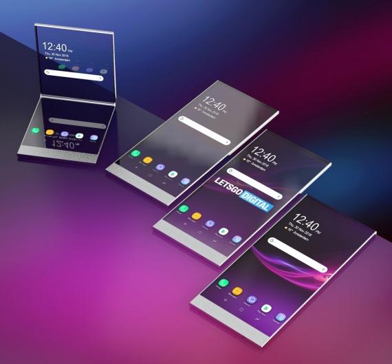 Sony запатентовала гибкие смартфоны с прозрачным экраном3