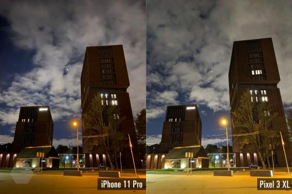 Сравнение ночных снимков iPhone 11 Pro с флагманами конкурентов9